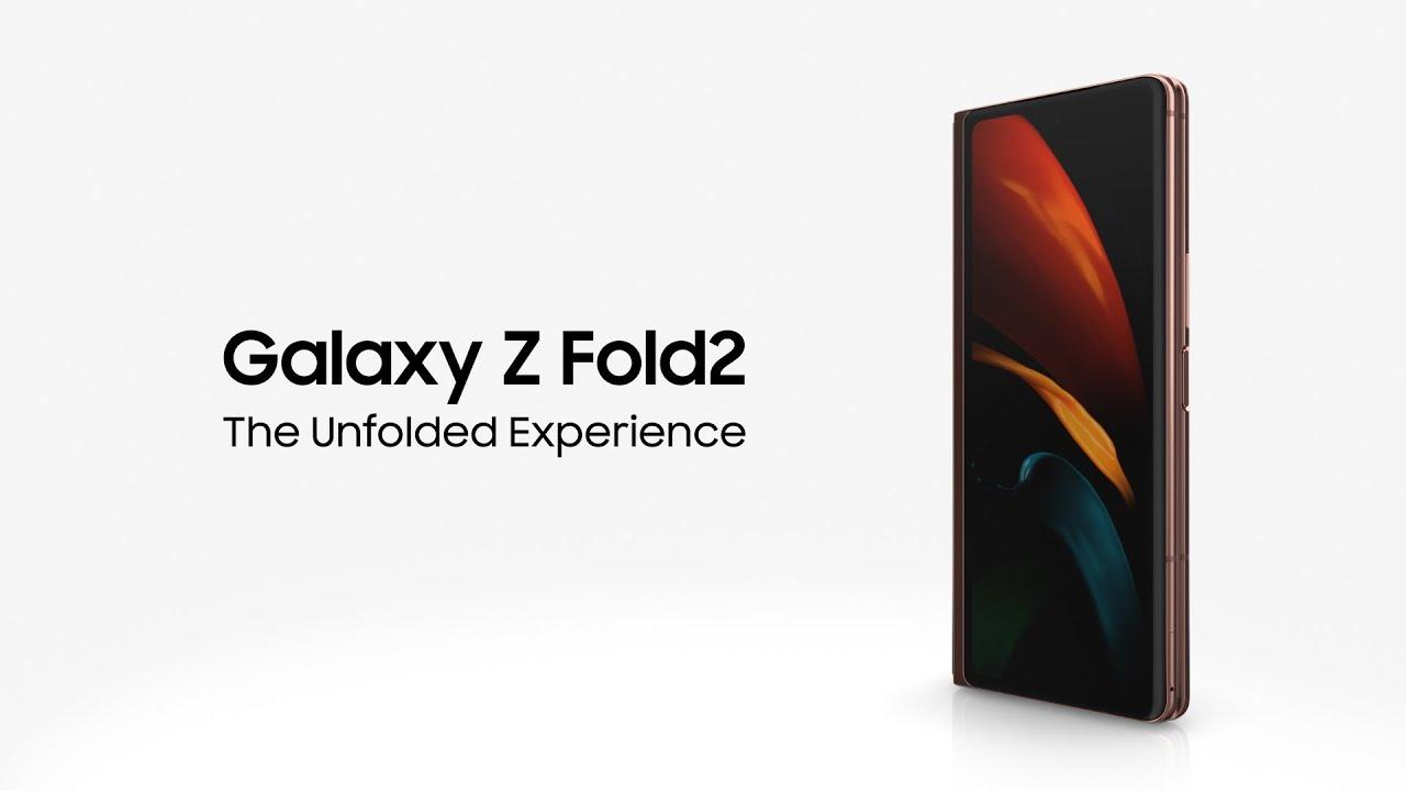 Galaxy Z Fold2: The Unfolded Experience | Samsung