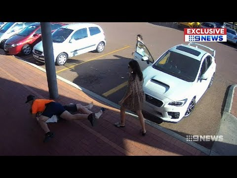 Perth Father Attacked Over Disabled Bay Dispute | 9 News Perth