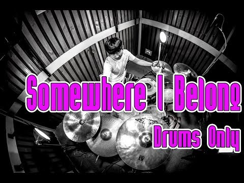 Somewhere I Belong -  Linkin Park (Drums Only Drum Cover) By Fen