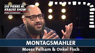 Die Montagsmaler Moses Pelham, Onkel Fisch und Pierre M. Krause