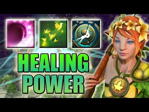 We Need a MEDIC! [False Promise + Shadow wave + Nature's Attendants = OP Heal] Dota 2 Ability Draft