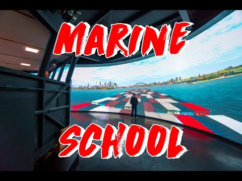 My Marine School Tour - Simulators, Naval Architecture, Deck, Engineering & Marine Biology