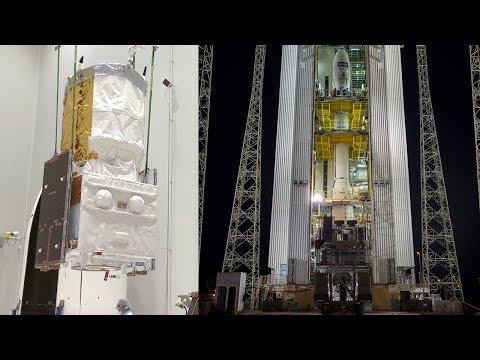 Vega ready to launch the Aeolus satellite