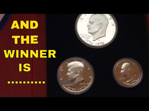 RARE 1776-1976 United States Bicentennial Silver Proof Set  Winner Announced!