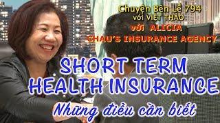 MC VIỆT THẢO- CBL(794)- SHORT TERM HEALTH INSURANCE-  BẢO HIỂM NGẮN HẠN - January 18, 2019
