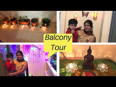 diy Balcony Tour Ideas / balcony makeover / Diy low budget balcony