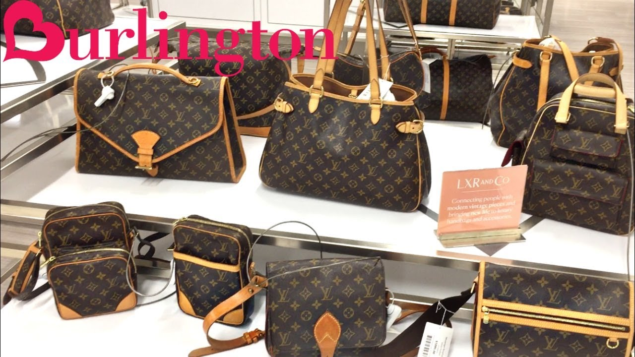 c625bf44eb3a FOUND LOUIS VUITTON AT BURLINGTON!!! Steals and Deals - YouTube