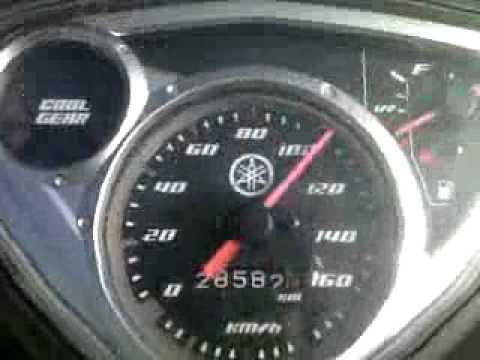 Jupiter MX 2006 Test max speed