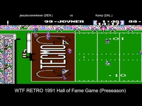 WTF RETRO 1991 Hall of Fame Game (Preseason) Dallas Cowboys @ Denver Broncos (jesusluvsme4ever)
