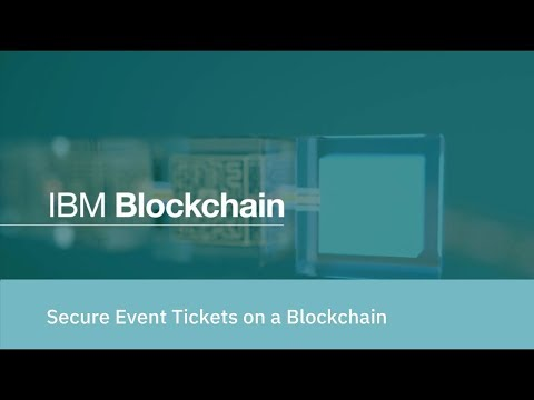 Secure Event Tickets on a Blockchain