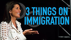 The Only 3 Things We Need To Know About Immigration