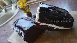 Robimy NIESPODZIANKĘ URODZINOWĄ  Brownie z fasoli - bez mąki