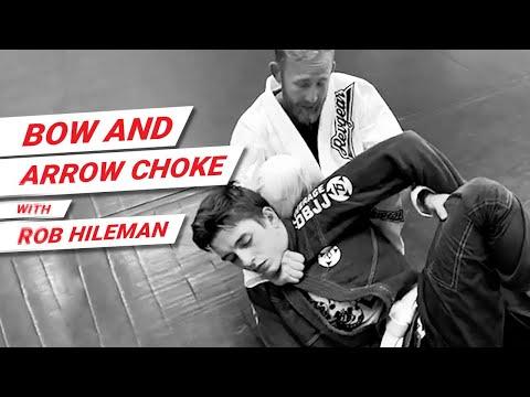 Bow and Arrow Choke - Brazilian Jiu Jitsu Technique with Rob Hileman