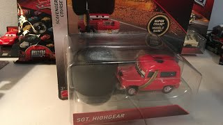 Disney Cars Sgt. Highgear diecast review