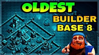 CLASH OF CLANS BUILDER BASE 8 BEST LAYOUT WITH REPLAY PROOF | BUILDER HALL 8 BEST BASE IN COC