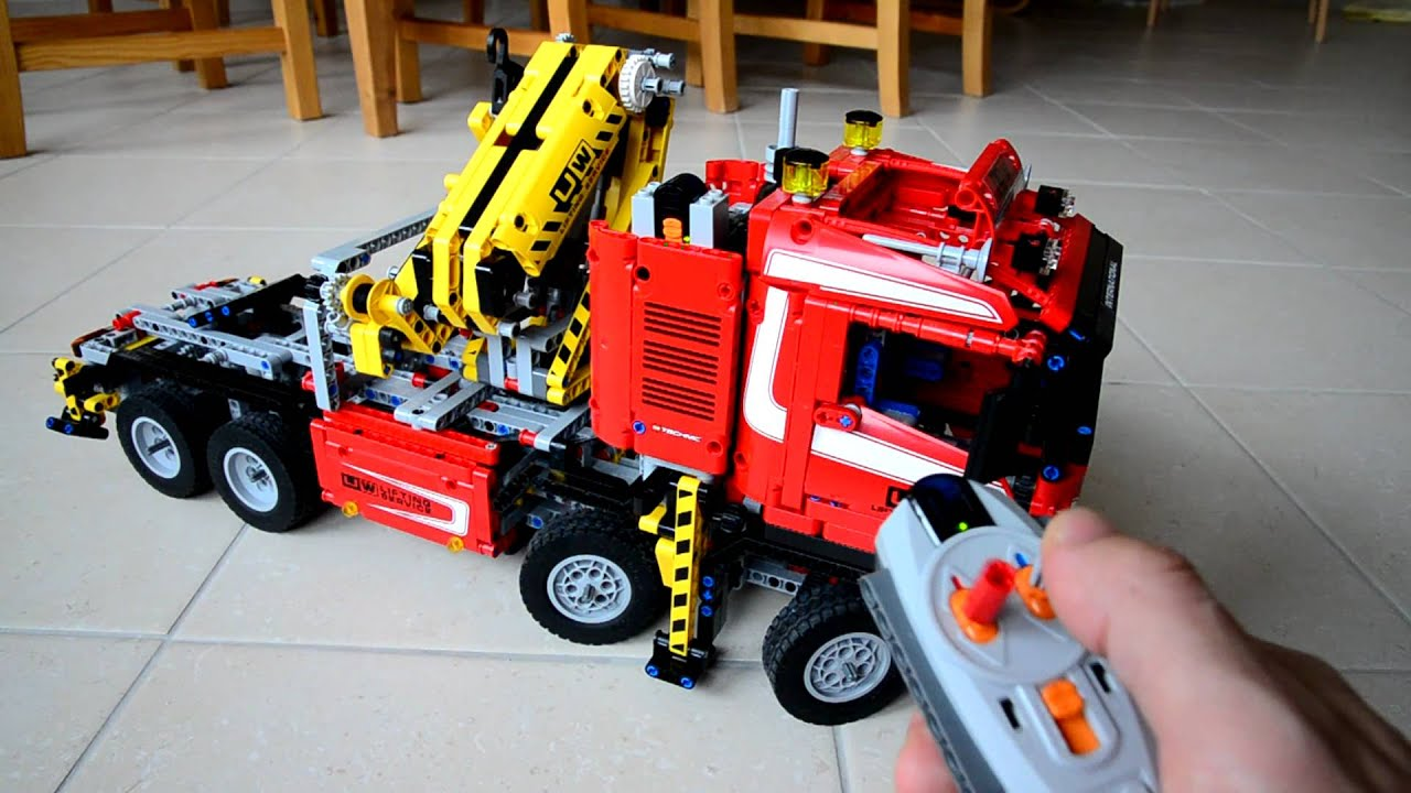 Favori LEGO Technic 8258 modified - YouTube OF38