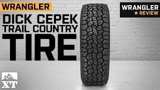 """Jeep Wrangler Dick Cepek Trail Country Tire (29-35"""") (1987-2018 YJ, TJ, JK & JL) Review"""