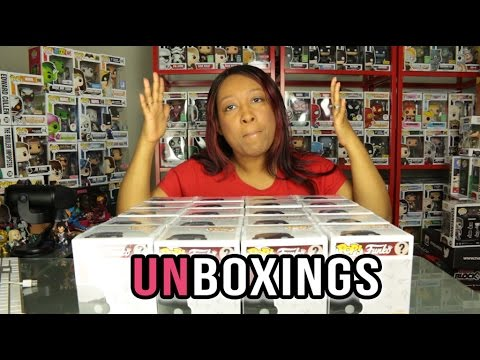 Hot Topic Exclusive Horror Funko Pop Mystery Blind Box Unboxing x 20