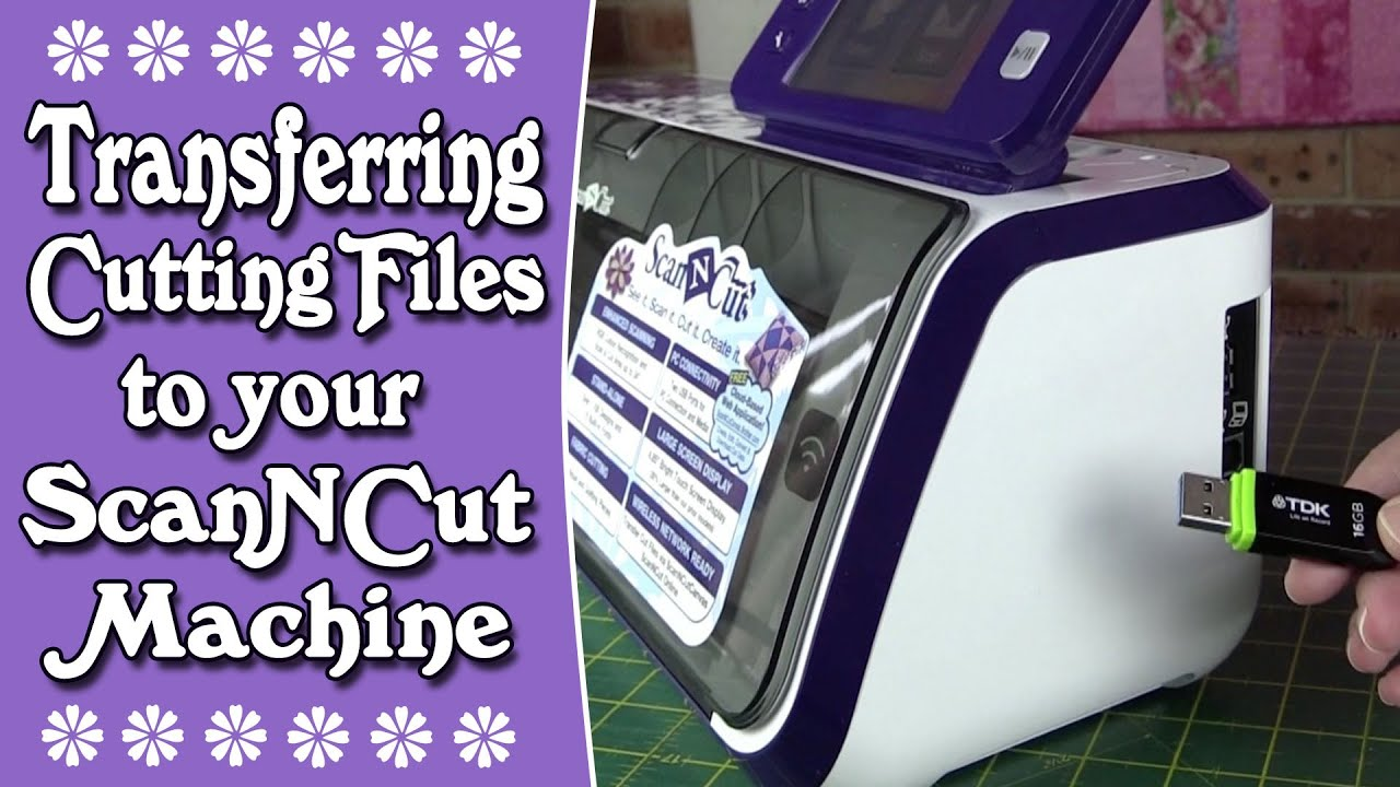 Download Brother Scan n Cut Tutorial: Transferring Cutting Files ...