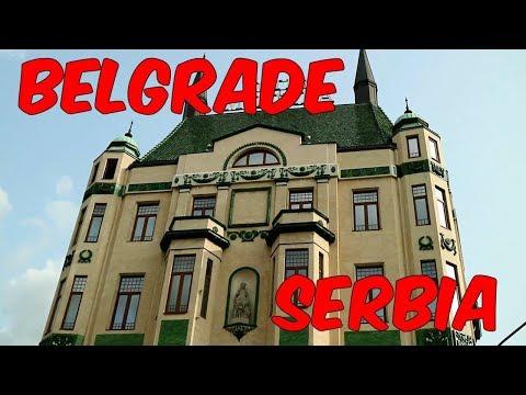 BEAUTIFUL ARCHITECTURE IN BELGRADE SERBIA - RENOVATED BUILDING IN BELGRADE