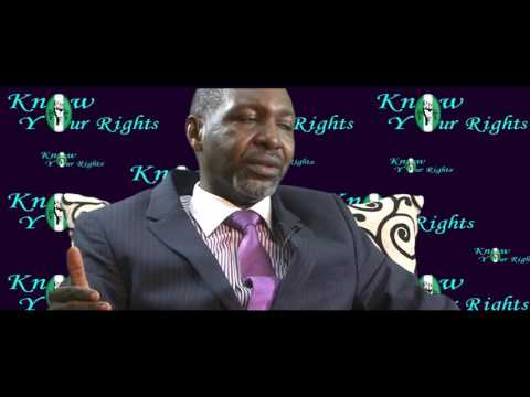 Know Your Rights Nigeria EPISODE 01 Rights to Privacy I