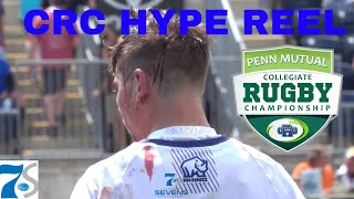 CRC MEN'S HYPE REEL | 2018 Penn Mutual Collegiate Rugby Championship