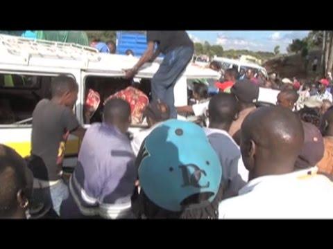 13 injured in accident along Nyeri-Nyahuru road