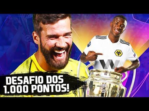 ELE MONTOU UM TIME MILAGREIRO, MÁGICO, ÉPICO! | Desafio dos 1.000 Pontos | FIFA 19