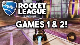 Rocket League Season Mode Part 1 - The Road to the Championship Begins! - Season 1 (PS4 Gameplay)
