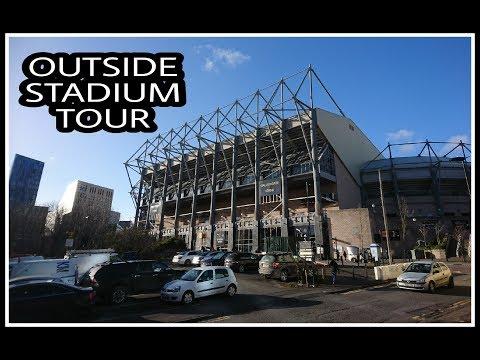 Newcastle United | Outside stadium tour