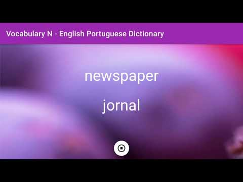English - Portuguese Dictionary - Vocabulary N