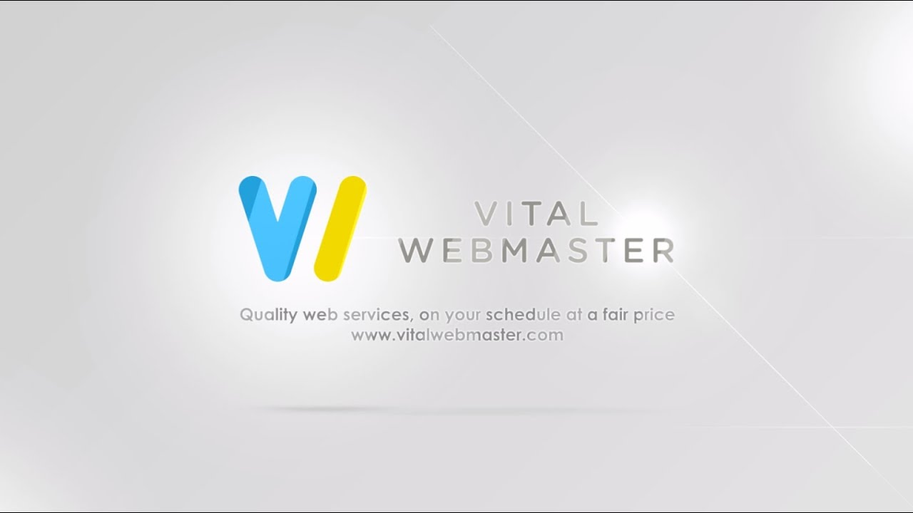 Introduction Video To Vital Webmaster Llc Utah Web Design Development Firm Youtube