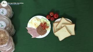Bữa sáng với PATE Cột Đèn Hải Phòng - Món Ngon Khắp Vùng Online