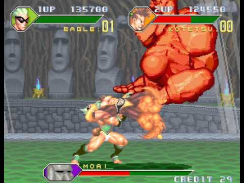 Monster Maulers arcade 2 player Netplay 60fps