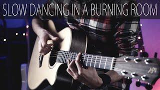 John Mayer - Slow dancing in a burning room⎪Fingerstyle guitar