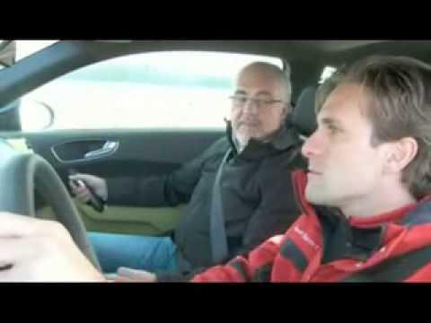 Audi A1 Test Drive: DTM Markus Winkelhock