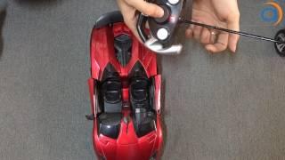 Hướng Dẫn Xe Điều Khiển Từ Xa Lamborghini 8803E Đóng mở cửa - Asun.vn