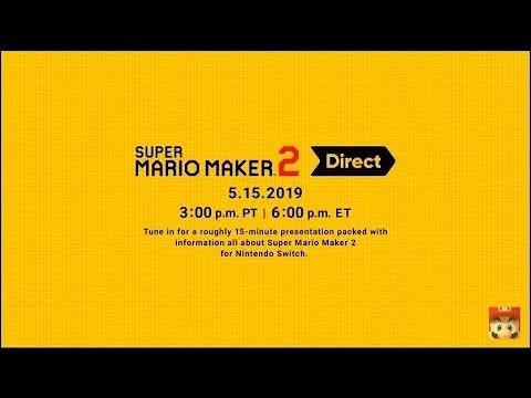 Mario Maker 2 Direct Reaction