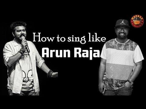 How to sing like #ArunrajaKamaraj | Side Dish | Madras Meter