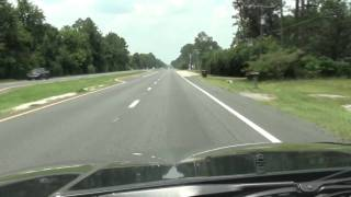 Driving to Waycross Georgia from Florida