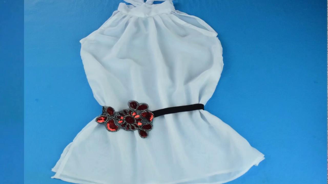 4ef5f0793 Blusas de chifon para niñas de 4 años