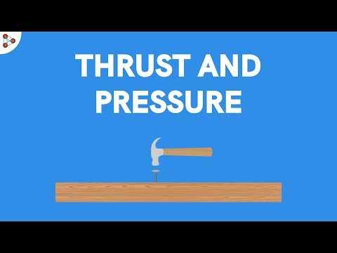 Physics - Difference between Thrust and Pressure?