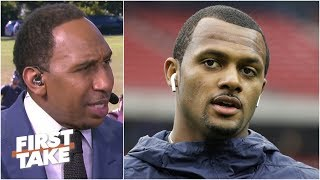 Deshaun Watson can reach Patrick Mahomes' level - Stephen A. | First Take