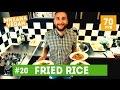 How to make fried rice  михаил веган  выпуск 20  как приготовить жареный рис