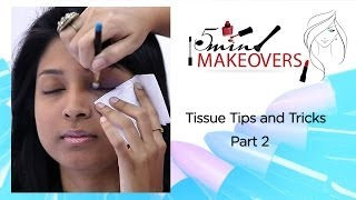 Tissue Tips & Tricks Part 2  || Learn How To Make A Dual Coloured Eye Wing || The Cloakroom Thumbnail