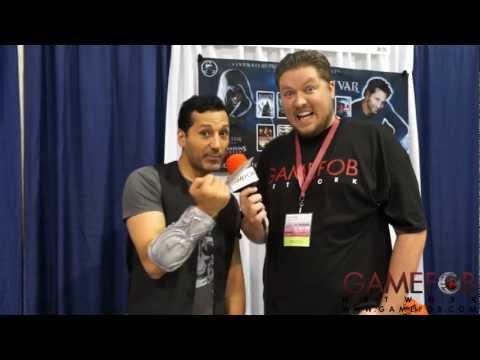 Gamefob At Wondercon 2013 - Cas Anvar of Assassin