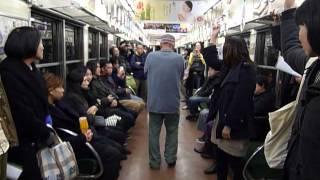 Akio Suzuki on the Noise Train  ノイズトレインの鈴木昭男