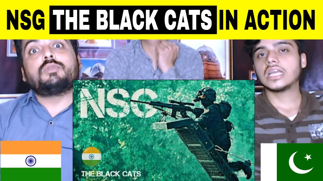 Pakistani Reaction on | NSG - The Black Cats | NSG Commandos In Action 🇮🇳🇮🇳🇮🇳(Military Motivational)