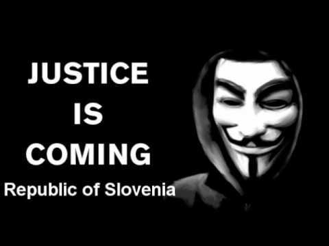 anonymous hacktivist manifest for Slovenia