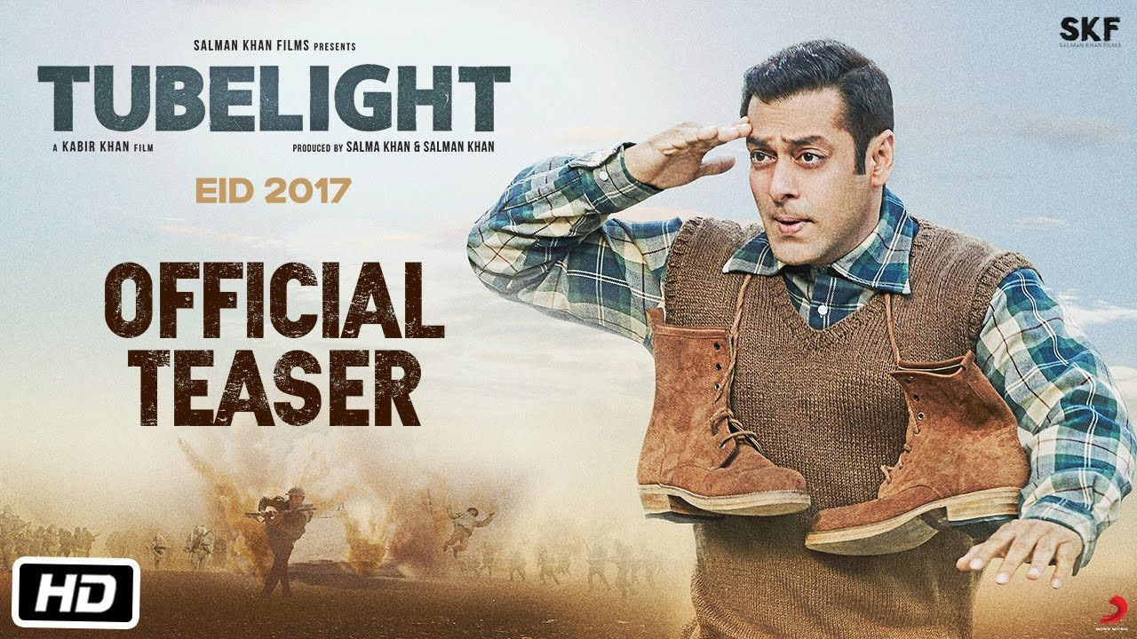 Tubelight Official Teaser Salman Khan Kabir Khan Youtube